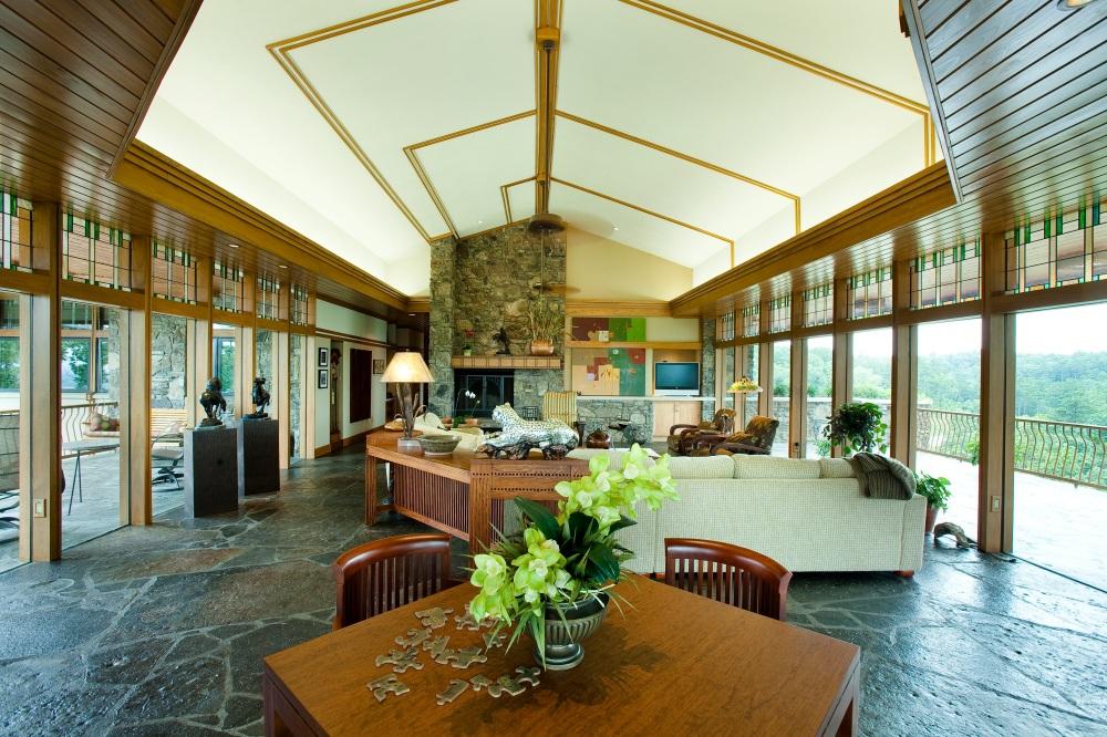 Shollmier Residence: Living Room