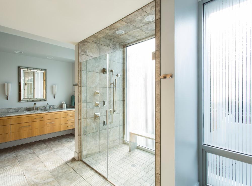 Solomon Residence Bathroom Shower