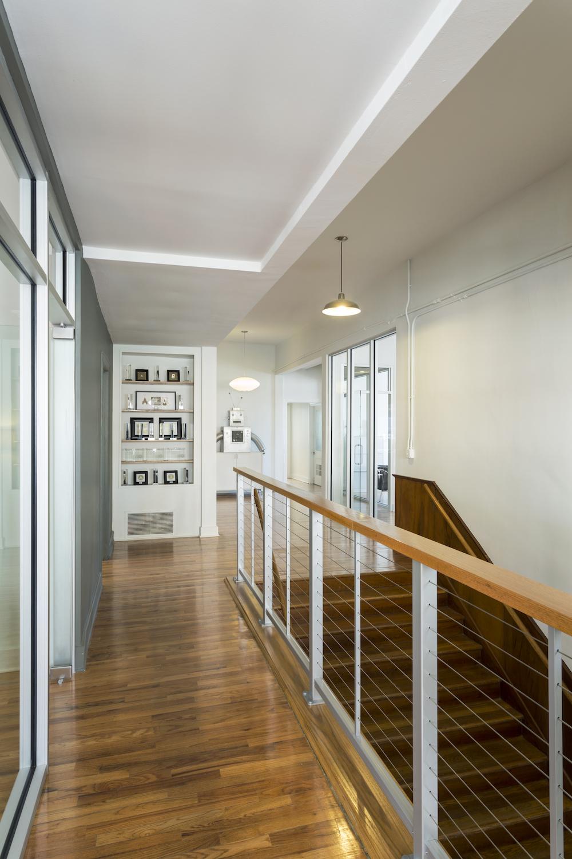 Lobby Interior Toward Alley